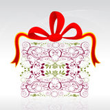 Floral gift card Stock Photo