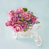 Floral gift . Royalty Free Stock Photos