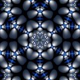 Floral globule mandala Stock Images
