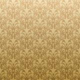 Floral golden wallpaper royalty free illustration