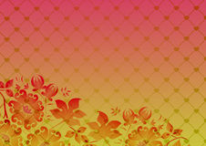 Floral Gradient Royalty Free Stock Photos