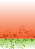 Floral gradient background Royalty Free Stock Photo