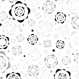 Floral graphic texture. Royalty Free Stock Photo