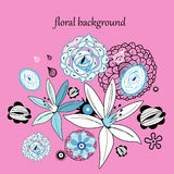 Floral graphics Stock Photos