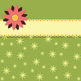 Floral Green background Royalty Free Stock Photography