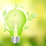 Floral green light Stock Images