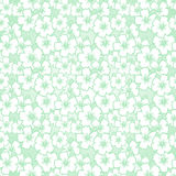 Floral seamless hibiscus pattern stock illustration