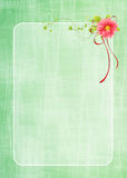 Floral greeting card design Royalty Free Stock Photo