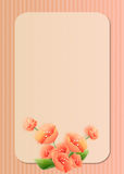 Floral Greeting Card Stock Images