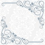 Floral greeting card Royalty Free Stock Photography