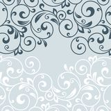 Floral greeting card. Royalty Free Stock Photography