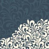 Floral greeting card. Stock Photos