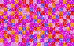 Floral grid squares Royalty Free Stock Images