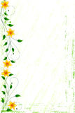 floral grunge ανασκόπησης Στοκ εικόνα με δικαίωμα ελεύθερης χρήσης