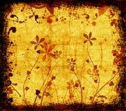 floral grunge Στοκ Εικόνα