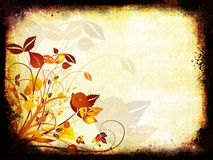 Floral grunge Stock Photography
