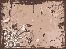 Floral grunge Stock Images