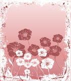 floral grunge ελεύθερη απεικόνιση δικαιώματος