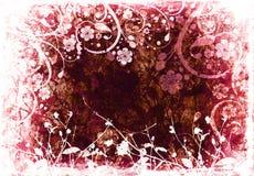 floral grunge Στοκ φωτογραφία με δικαίωμα ελεύθερης χρήσης