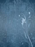 Floral grunge background (02) Stock Photography