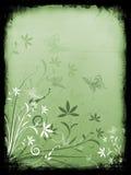 Floral grunge background Stock Photos