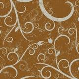 Floral grunge background stock illustration