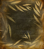 Floral grunge background Stock Image