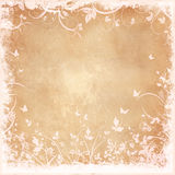 Floral grunge background Royalty Free Stock Photos