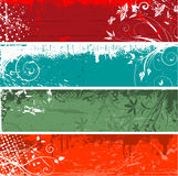 Floral grunge backgrounds Royalty Free Stock Image