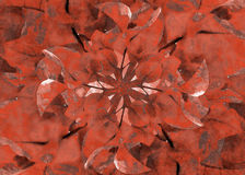 Floral Grunge Decorative Background Stock Photography