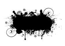 Floral grunge design royalty free stock photo