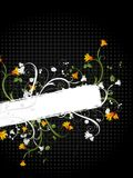 Floral grunge design Stock Photo