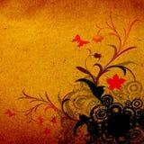 Floral Grunge Design Stock Photos