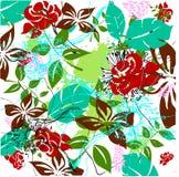Floral grunge design royalty free illustration