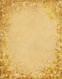 Floral Grunge Paper Royalty Free Stock Photography