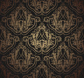 Floral grunge seamless ornament Stock Photography