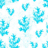 Floral grunge seamless texture. Royalty Free Stock Images