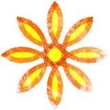 Floral Grunge Symbol Royalty Free Stock Images