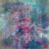 Floral Gypsy Bohemian Tapestry Scrapbook Background Royalty Free Stock Photos