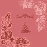 floral gzel 2 jpg ελεύθερη απεικόνιση δικαιώματος