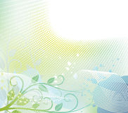 Floral halftone background. Vector illustration vector illustration