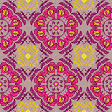 Floral hand draw ornament seamless pattern Royalty Free Stock Photography
