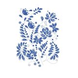 Floral hand drawn pattern for greeting cards, covers, paper, wallpaper, banners, frame, background. stock illustration