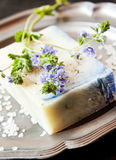 Floral Handmade Soap Stock Image