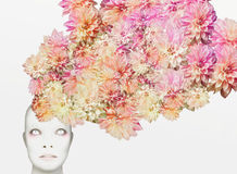 Floral head Stock Photo