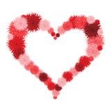 Floral Heart. Beautiful  Stock Photos