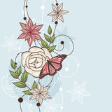 Floral  illustration Stock Photos