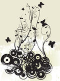 Floral illustration Stock Photos
