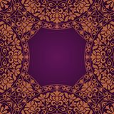 Floral Indian pattern Royalty Free Stock Photos
