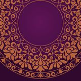 Floral Indian pattern Stock Photography